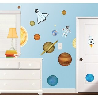 In Outer Space Super Jumbo Applique Wall Decal