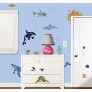 Under the Water Super Jumbo Applique Wall Decal