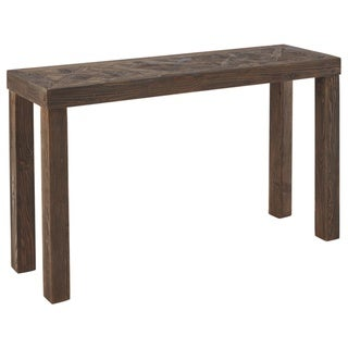 Ossereene Contemporary Brown Sofa Table