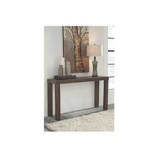 Signature Design by Ashley, Ossereene Contemporary Brown Sofa Table