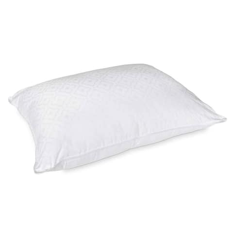 Jennifer Adams Signature 300 Thread Count Ultimate Down Alternative Woven Pillow - White