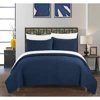 Chic Home Mather 7 Piece Bed in a Bag Geometric Quilt Cover Set