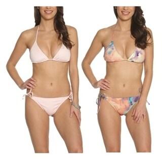 Pixie Pier Traingle Bikini - 2 Sets - Pastel Pink and Pastel Tie Dye