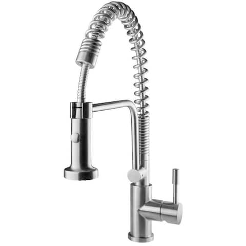Geyser GF51-S Andorra Series Stainless Steel Pull-Down Kitchen Faucet