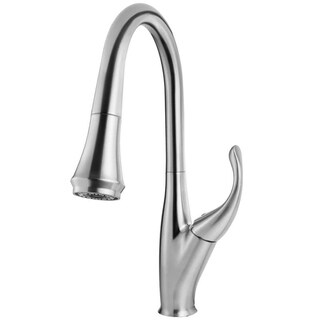Geyser GF75-S Boden Series Brushed Nickel Pull-Down Kitchen Faucet