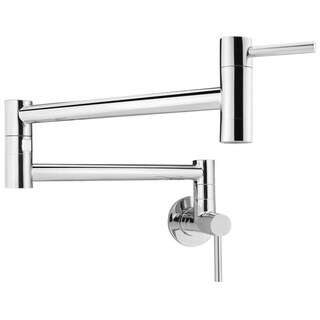 Geyser GF46 Andorra Series Stainless Steel Wall Mount Pot Filler Faucet (3 options available)
