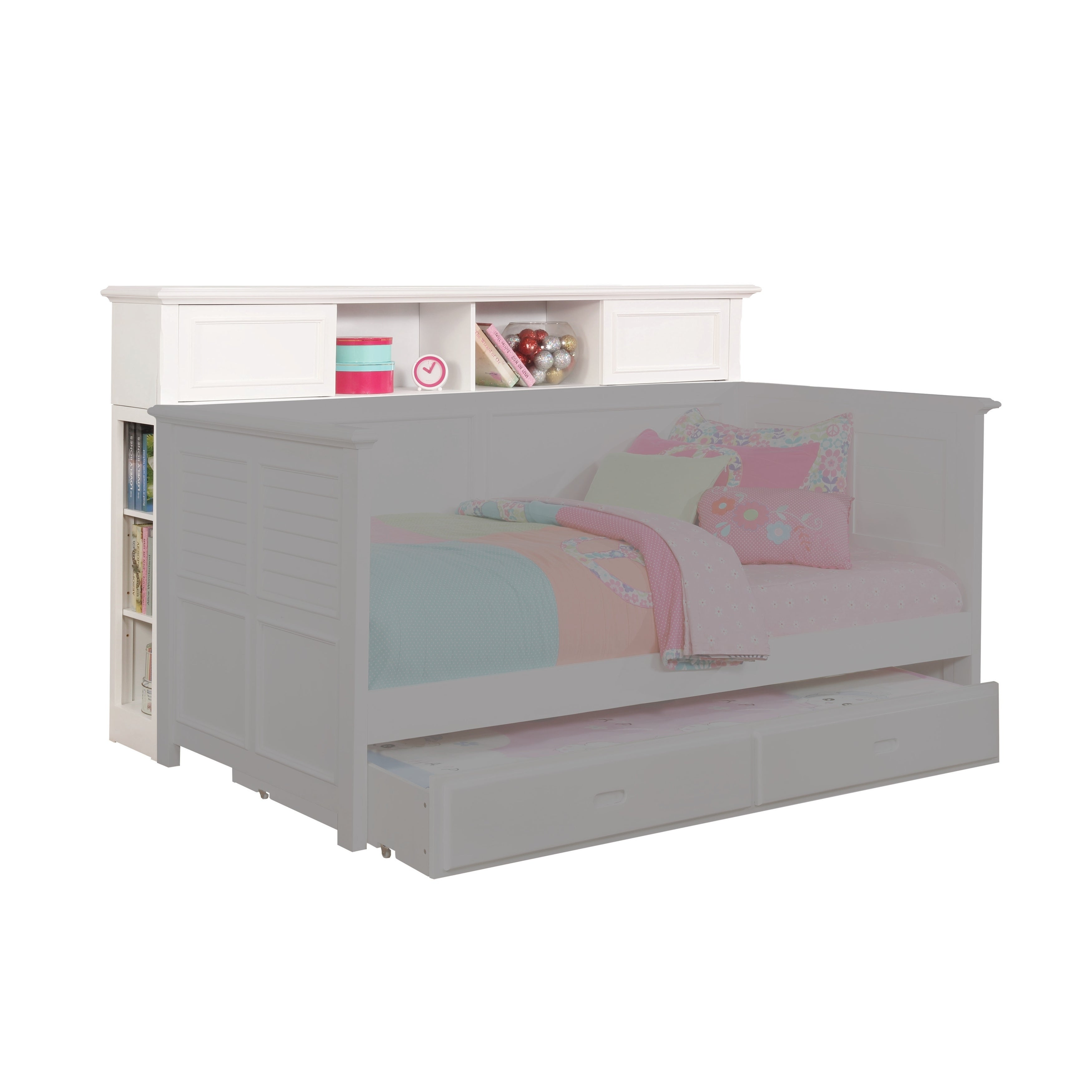 Bookcase Add On For White Daybed