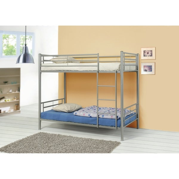 Denley Twin-over-twin Metal Bunk Bed
