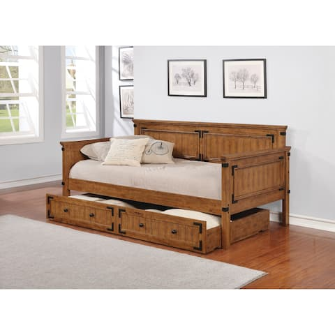The Gray Barn Spring Mount Rustic Honey Daybed