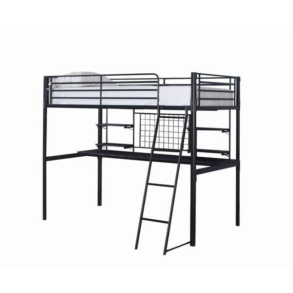 Boltzero Contemporary Twin Loft Bunk Bed