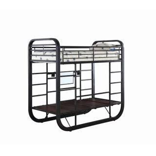 Archer Casual Chestnut Workstation Bunk Bed (2 options available)