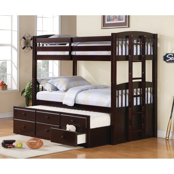 Shop Kensington Cappuccino Bunk Bed On Sale Free Shipping Today