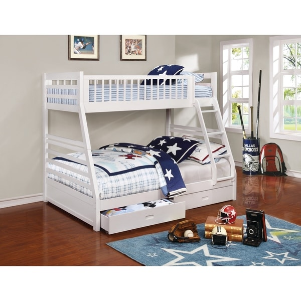 Shop Taylor Olive Graffton Twin Over Full Bunk Bed On Sale