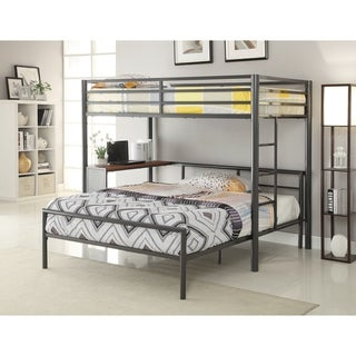 Twin Metal Workstation Loft Bed