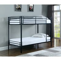 Boltzero Contemporary Twin-over-twin Bunk Bed
