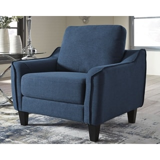Jarreau Blue Arm Chair
