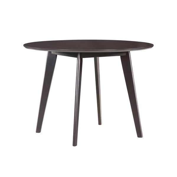 42 inch round dining table 36 inch handy living edgewater 42inch round espresso dining table shop on