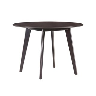 Handy Living Edgewater 42-inch Round Espresso Dining Table