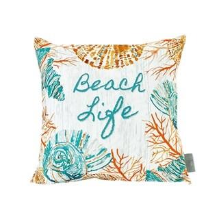 Sara B. Beach Life 20 in. Square Throw Pillow