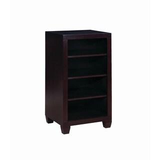 Danville Cappuccino 4-tier Bookcase