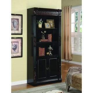 Nicolas Traditional Espresso 3-shelf Bookcase