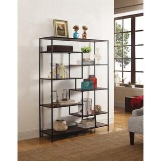 Carbon Loft Dumont Modern Black Metal 7-shelf Bookcase