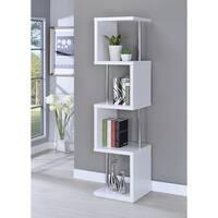 Modern 4-tier Bookcase