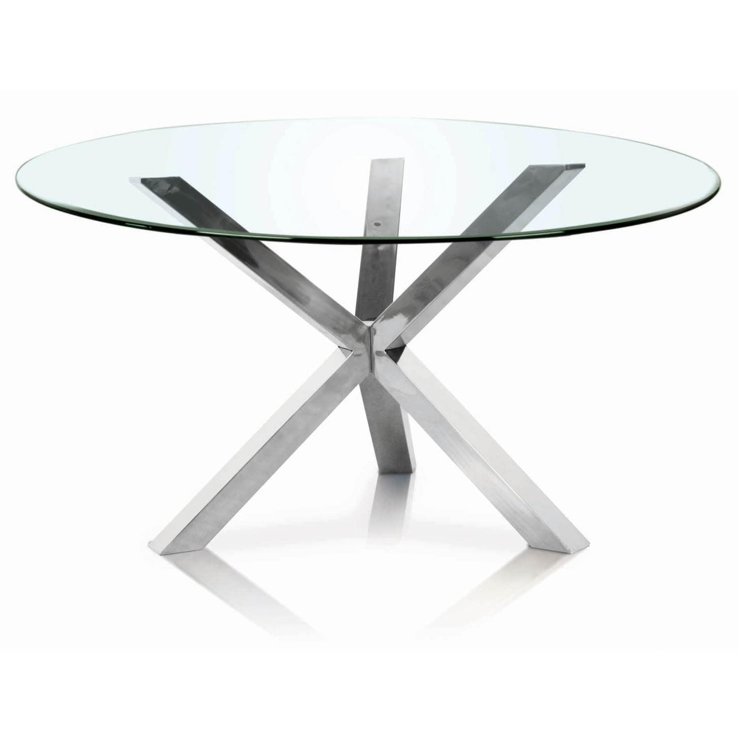 Stainless Steel Round Dining Table Base