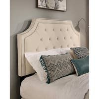 Audrey Upholstered Tufted Headboard with Nail Head Trim