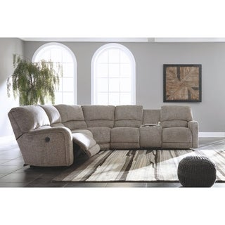 Signature Design by Ashley Fossil Pittsfield Left-Arm Facing Power Recliner