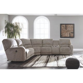 Signature Design by Ashley Fossil Pittsfield Right-Arm Facing Power Recliner