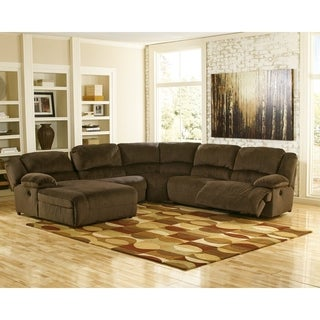 Signature Design By Ashley Chocolate Toletta Right Arm Facing Recliner