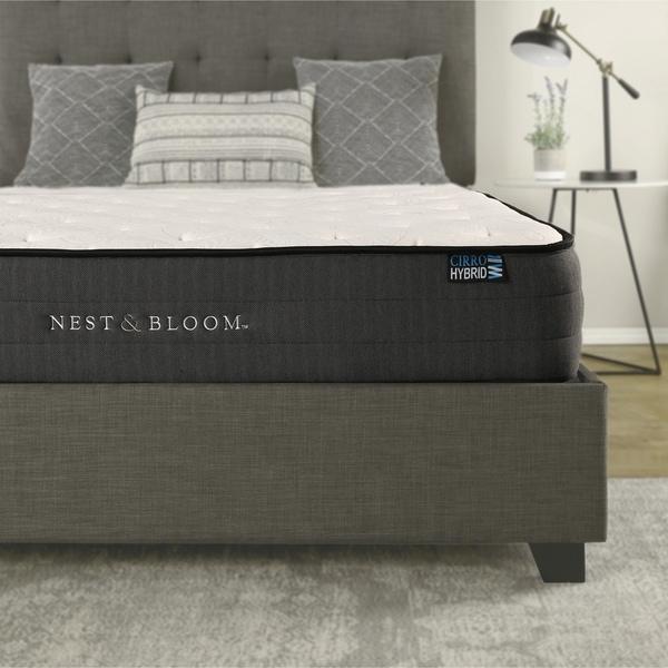 "Nest & Bloom 10"" Hybrid Tufted Mattress"