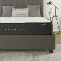 "Nest & Bloom 10"" Hybrid Tufted Mattress"