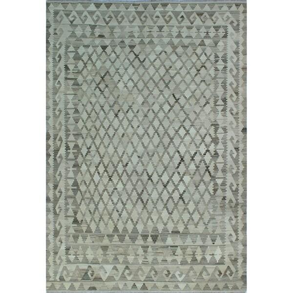 Shop Noori Rug Winchester Kilim Zara Ivory/Brown Rug
