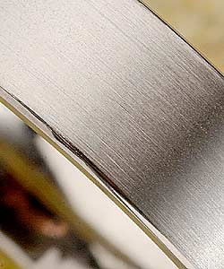 Men's Titanium Brushed Finish Band (7 mm) - Thumbnail 2