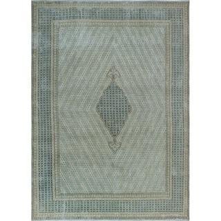 Noori Rug Fine Vintage Distressed Njau Beige/Blue Rug - 9'0 x 12'8