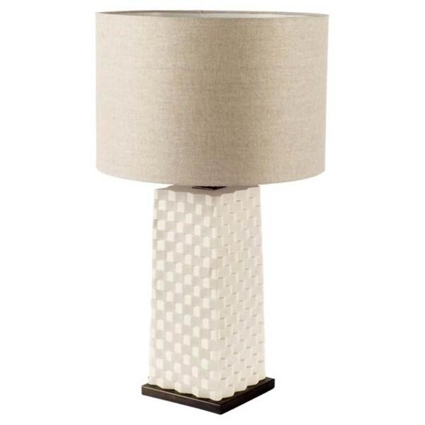 Mercana Montgomery Black Resin Table Lamp