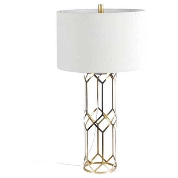 Mercana Heathrow II Bronze Metal Table Lamp