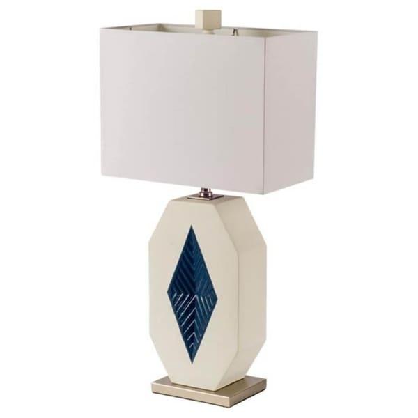 Mercana Mohill White Ceramic Table Lamp
