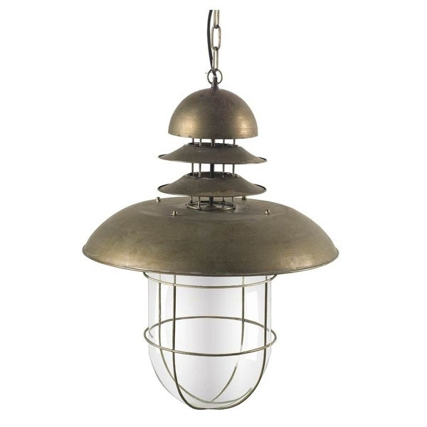 Mercana Pathway Metal Pendant Light
