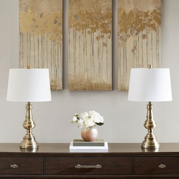 Shop 510 Design Cape Brass Table Lamp Set Of 2 On Sale