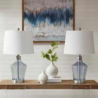510 Design Harmony Blue Table Lamp (Set Of 2)