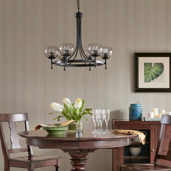 Harbor House Tessa Black Chandelier