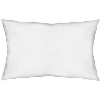 Mercana Remplier V (polyfill insert only) White 13x21 Pillow Insert