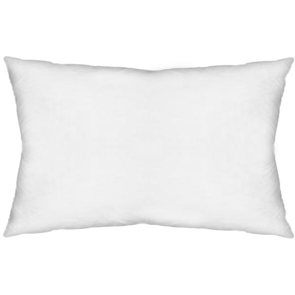 Shop Mercana Plume V Down Pillow Insert Only White 40x40 Pillow Adorable 13x21 Pillow Insert
