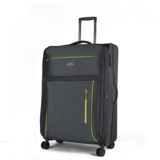 AGT Soteria 25-inch Anti-theft TSA Lock Expandable Spinner Suitcase