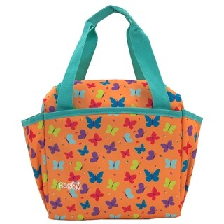 Baggy Joy Insulated Lunch Bag (Butterfly)