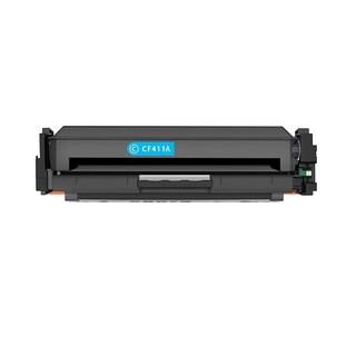 1PK Compatible CF411A Toner Cartridge For HP LaserJet Pro M452 M477 MFP M377 ( Pack of 1 )