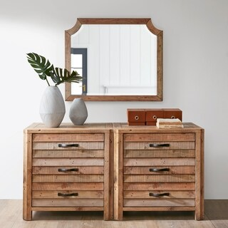 INK IVY Sonoma Natural 3 Drawer Dresser